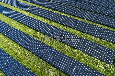 bavaria germany rows of solar panels