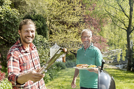portrait of happy man on a