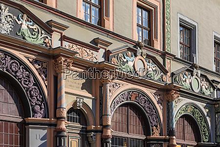 germany thuringia weimar marktplatz exterior of