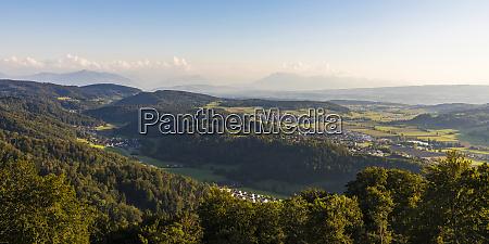 switzerland canton of zurich stallikon panorama