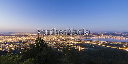 switzerland canton of zurich zurich panoramic