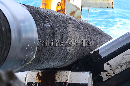 pipes for laying a gas pipeline