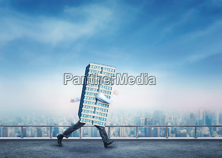 walking skyscraper