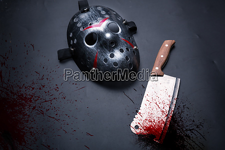 serial murderer tools isolated on black