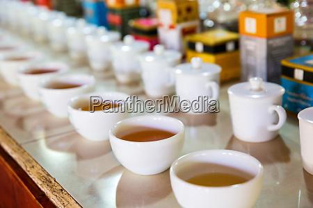 ceylon tea tasting cups tourist excursion