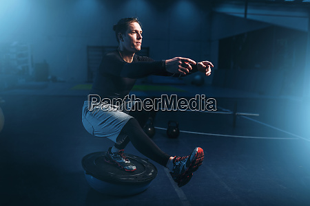 athletic, man, on, training, , workout, on - 28061847