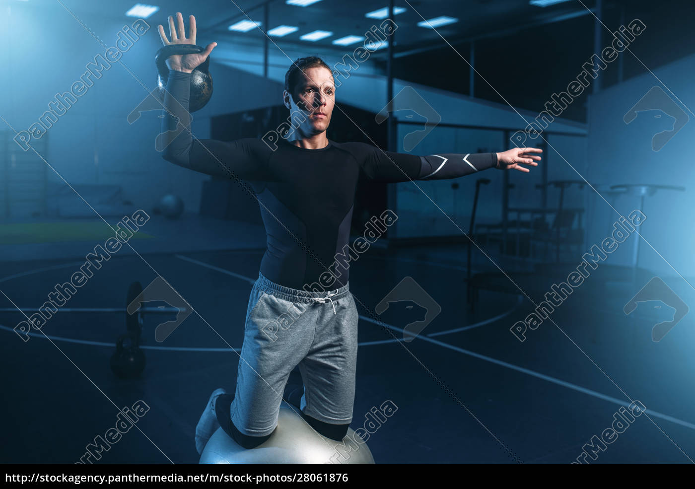 athletic, man, on, training, , workout, on - 28061876