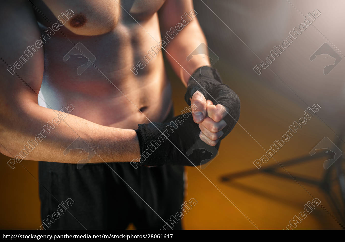 muscular, male, person, hands, in, black - 28061617