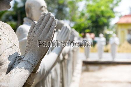 buddha, statues, in, a, temple, on - 28062543