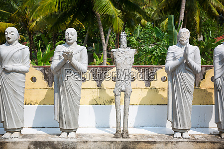 buddha, statues, in, a, temple, on - 28062612