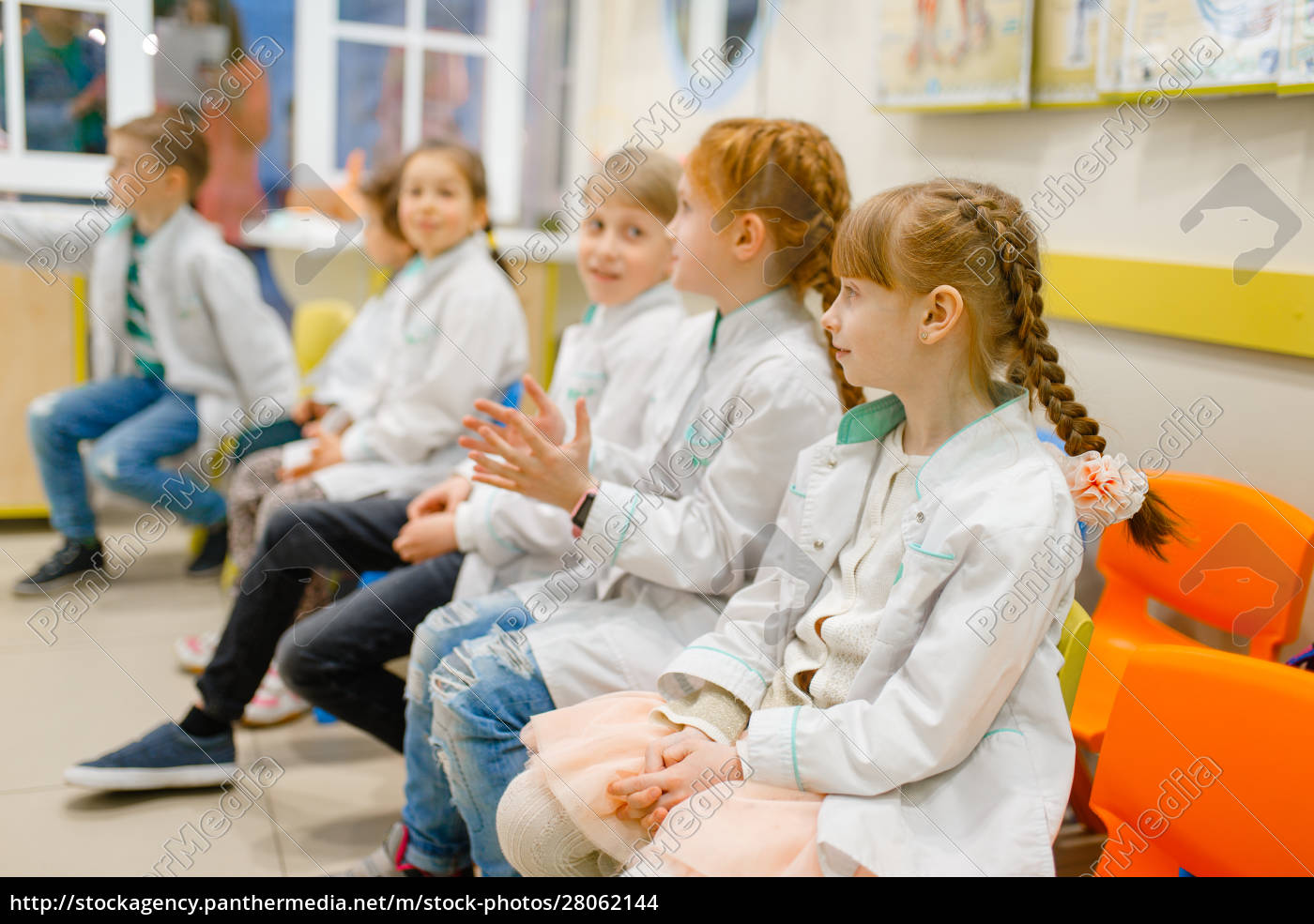 children, learning, doctor, profession, in, classroom - 28062144