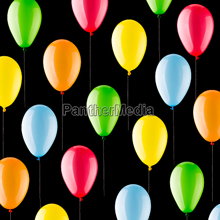 colorful, balloons, background - 28062256