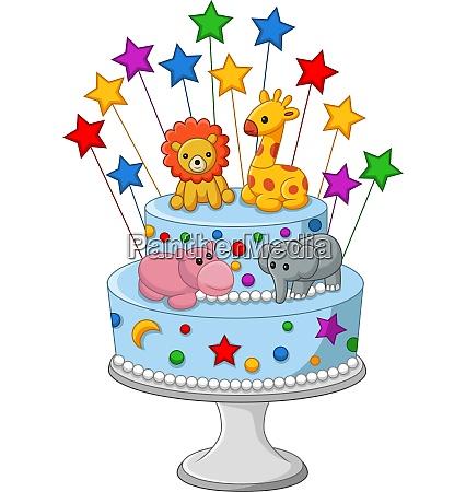 colorful, birthday, cake - 28062026