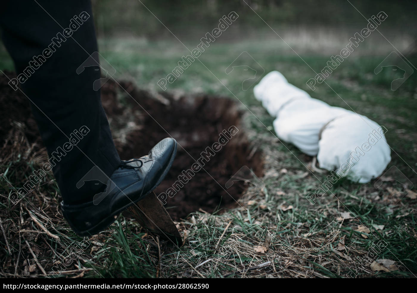 male, murderer, with, a, shovel, - 28062590