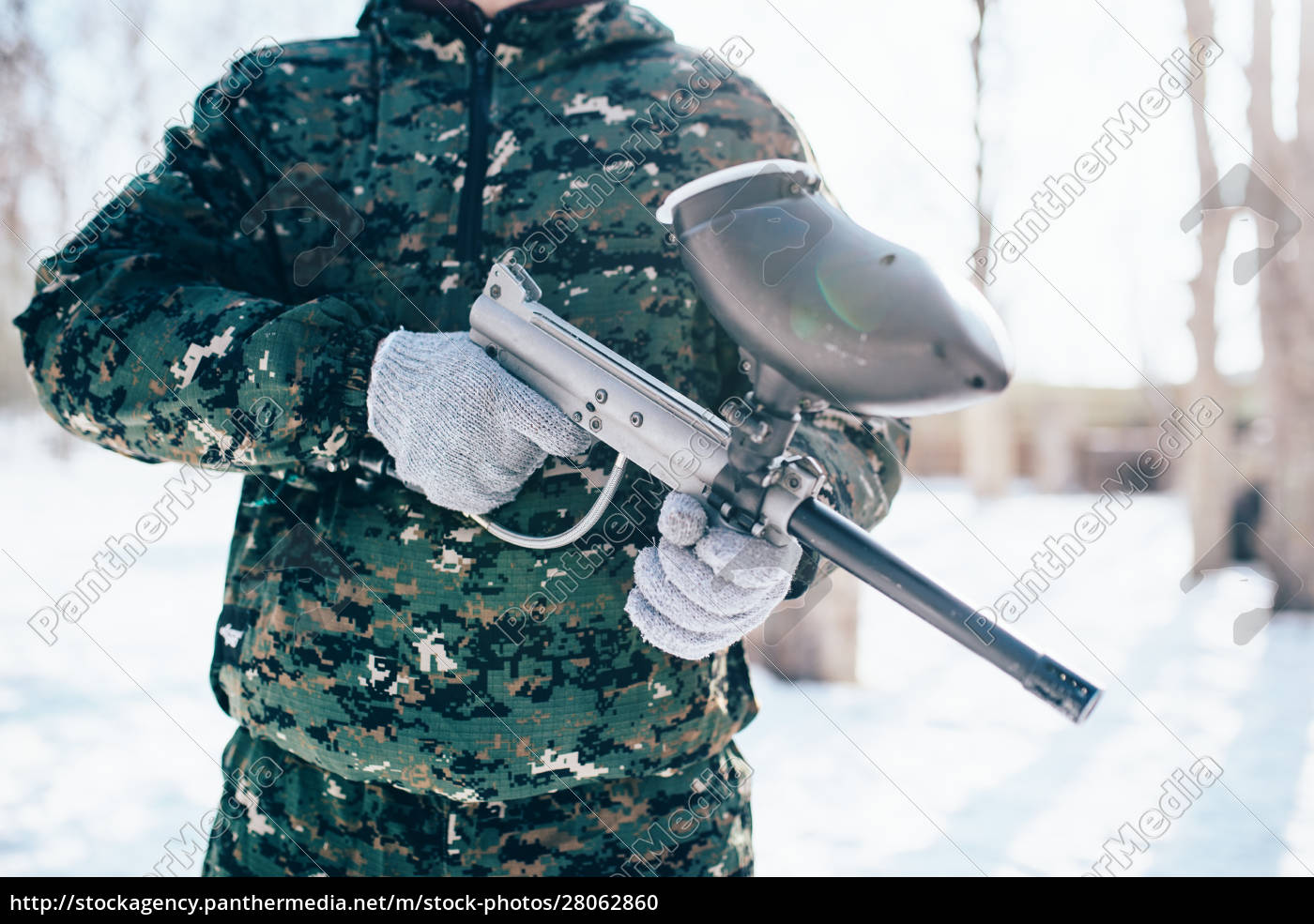 male, paintball, player, , military, game, equipment - 28062860