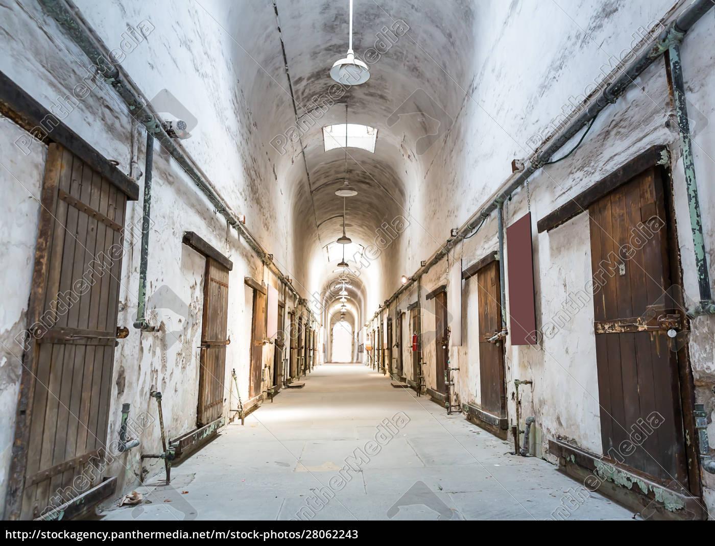 old, grunge, prison. - 28062243