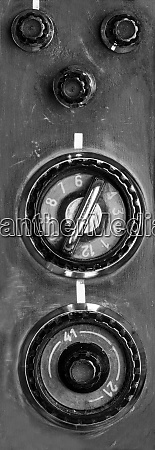 vintage, tv, controls - 28062466