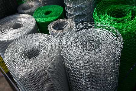 barbed, wire, and, mesh, netting, rolls - 28063046