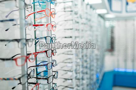 eyeglasses, and, sunglasses, showcase, in, optic - 28063248