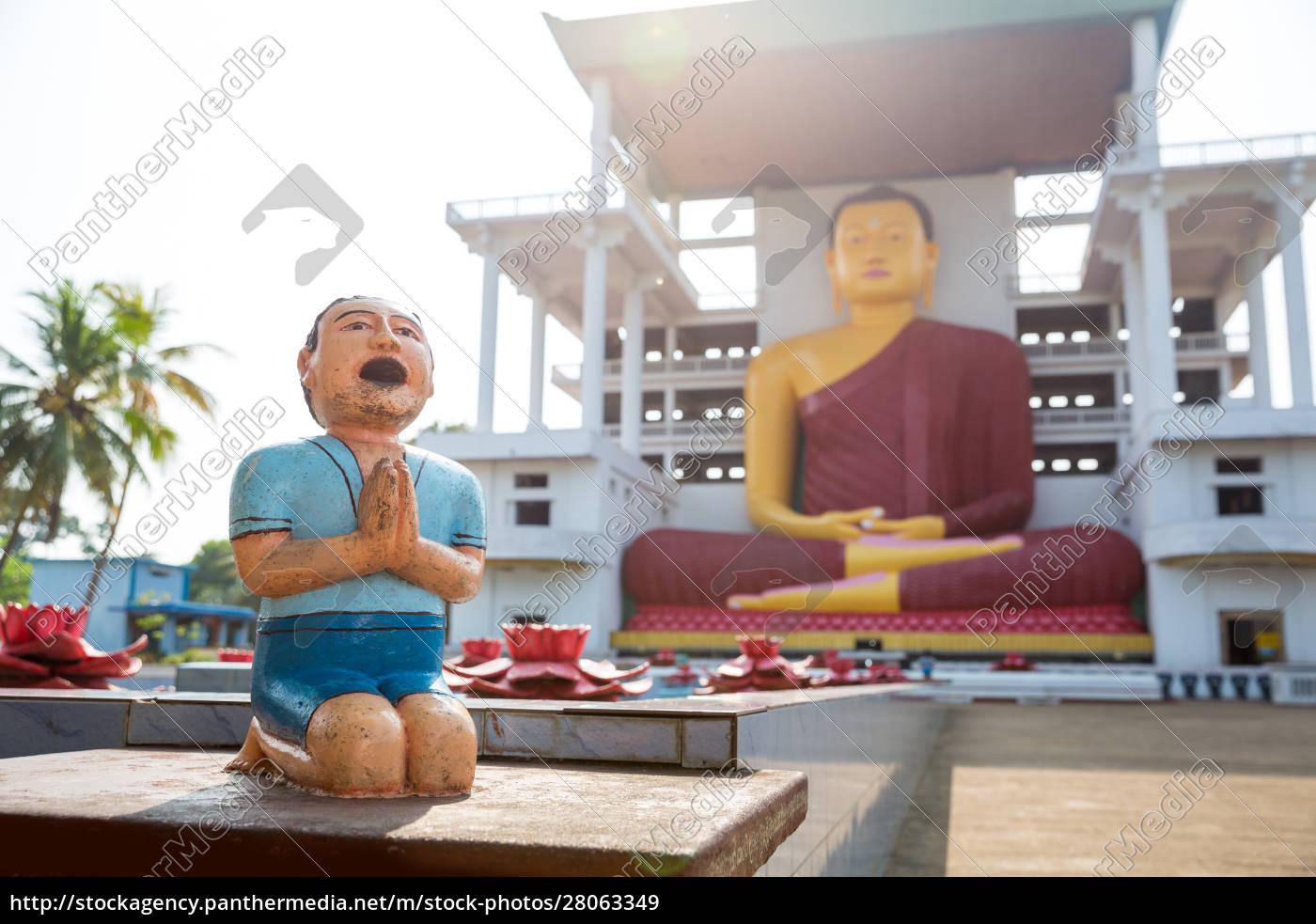 sri, lanka, , ancient, buddha, statues, in - 28063349