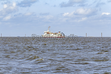 ferry in the north sea