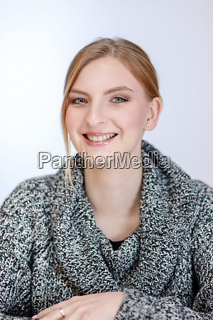 young girl of european appearance