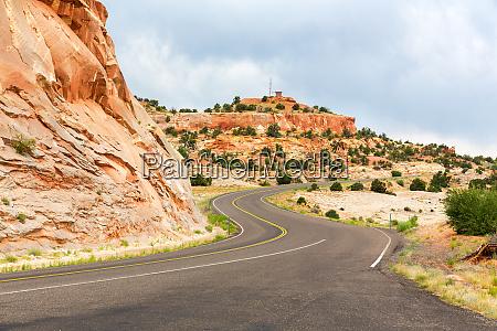 mountain way landscape