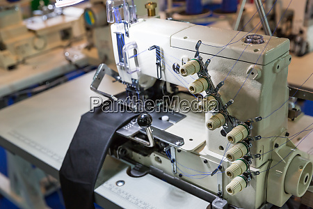 sewing machine and cloth nobody clothing