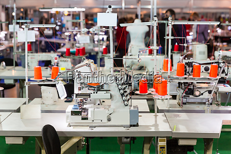 sewing factory nobody overlock machines