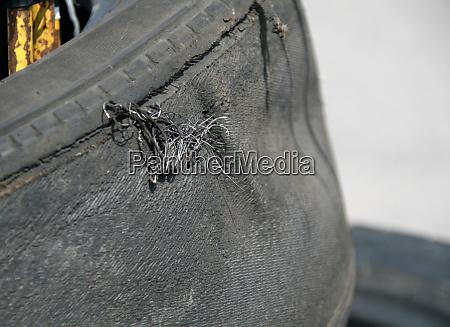 used racing tire