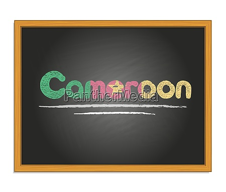 cameroon country name and flag color