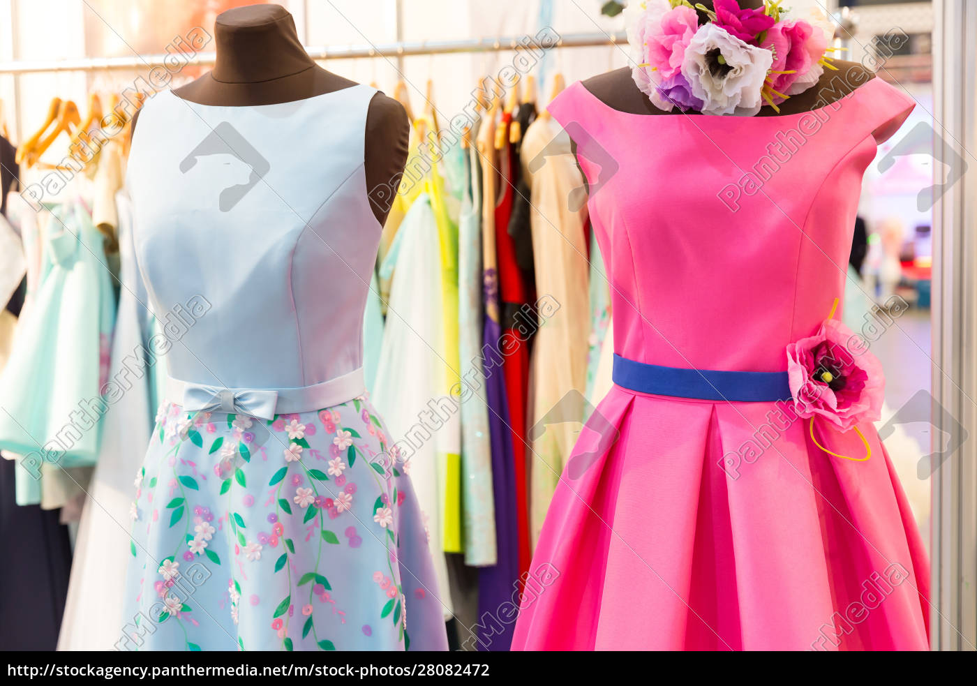 dresses, on, the, mannequins - 28082472
