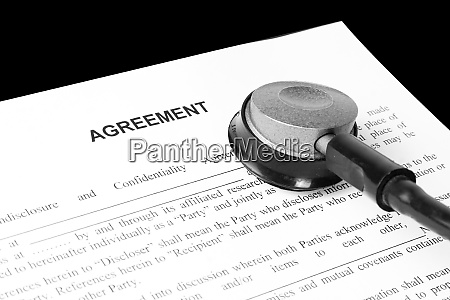 examination of the business agreement