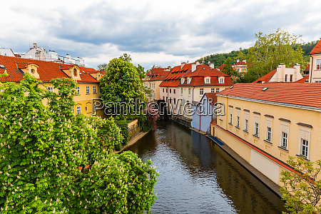 ancient, european, town, with, buildings, on - 28083376