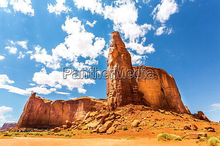 desert, , sandstone, mountains, and, cloudy, sky - 28083202
