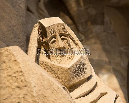 figure, of, sad, saint - 28083955