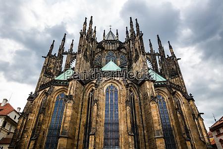 saint, vitus, cathedral, , prague, , czech, republic - 28083962
