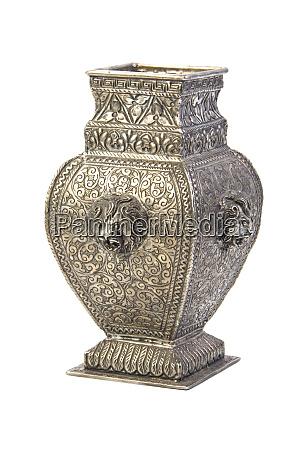 silver, vase - 28083667