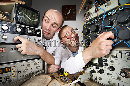 two, funny, nerd, scientists - 28083340