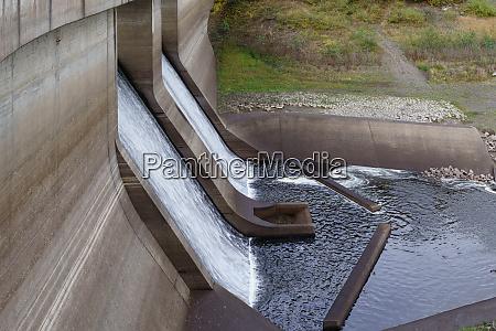 oker dam in the harz national