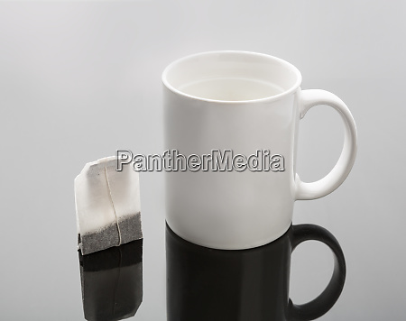 cup and tea bag