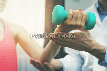 physiotherapy physiotherapist help woman patient