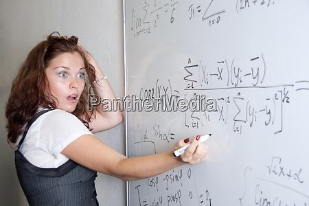 shocked student