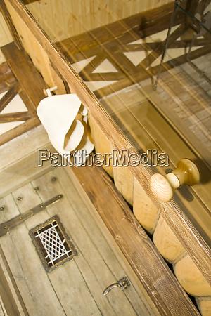door to sauna