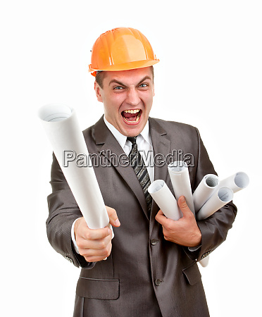 expressive contractor with plans