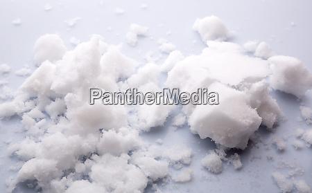 clean slush snow texture closeup