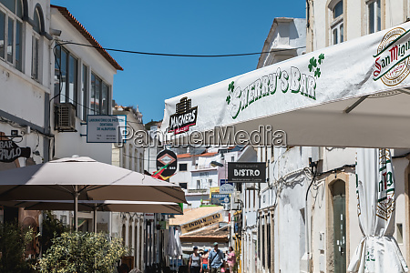 street ambiance and architecture on the