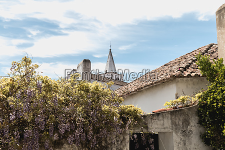 architectural detail of small houses typical