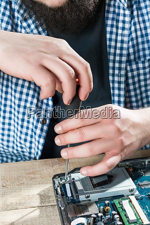 male engineer