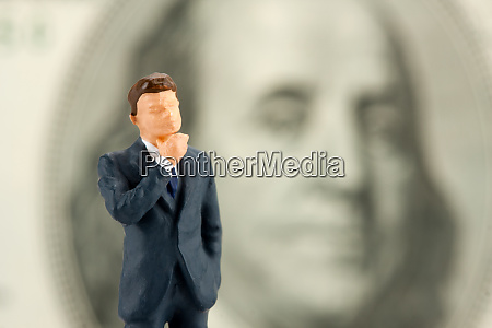 figurine of wisdom businessman